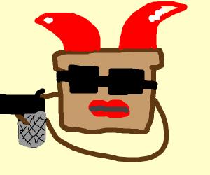 Evil toast
