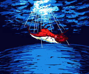 Red stingray