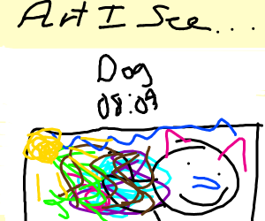 A drawing in drawception
