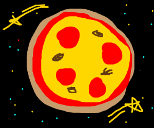 A pizza planet
