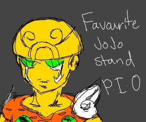 favorite Jojo stand (mine's Aerosmith)