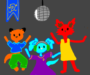 Drawception Furry Party
