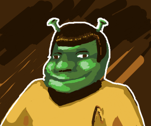 Lore(Star Trek) but also Shrek