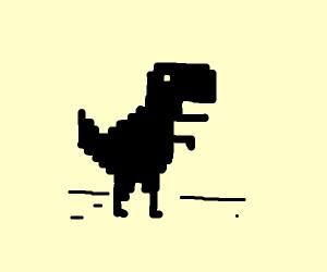 Dinossaur of no internet connection