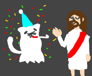 ghostcat celebreates jesus christ