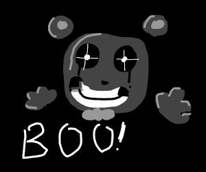 Freddy ( FNAF ) says boo