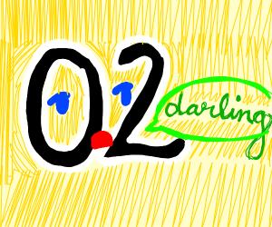 Zero Two saying Darling