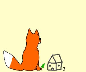 giant fox drawception
