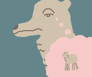 Llama in deep thought
