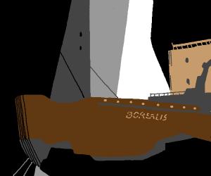 The Borealis (that hl2 ship)