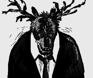 Dark Deer Man