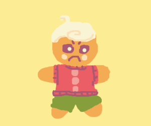 Disappointed cookie