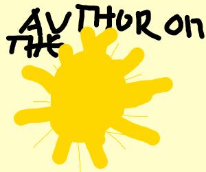Author on the Sun