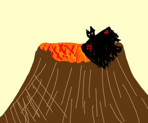 Birdperson vs. The Volcano