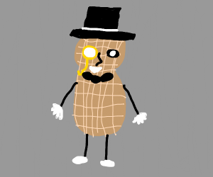 fancy peanut man