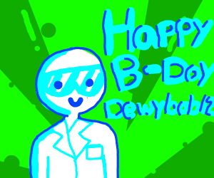 Happy Birthday Dewybob12!!!