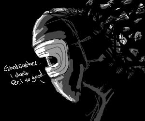 kylo ren turning to dust (avengers infi. war)