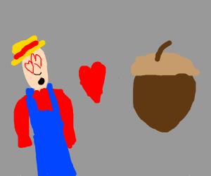 farmer loves acorn
