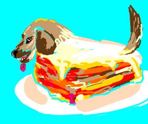 b lasagna