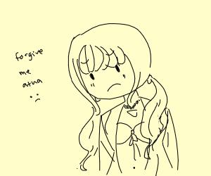 angie (drv3) is sad