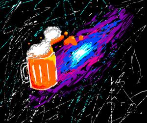 Beer in space!