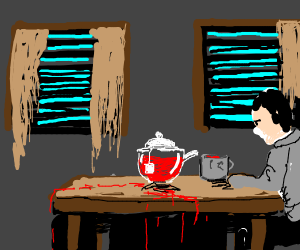 psychopath tea time