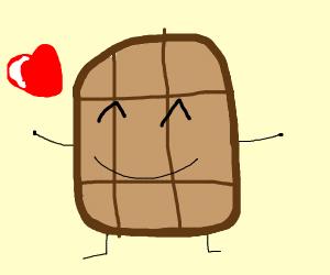 Mr.Waffle want's a hug