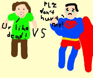 Shaggy vs superman