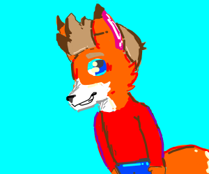 (j)azza is a furry