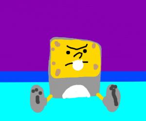 easter bunny spongebob