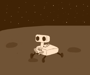 Mars rover is also R.O.B.