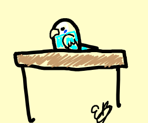 Bird on a Table