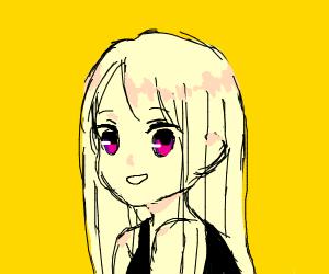 Happy Anime Girl