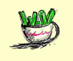 Celery in a Teacup