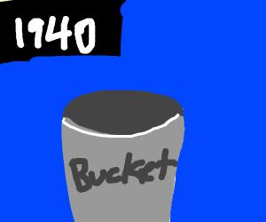 1940's Bucket