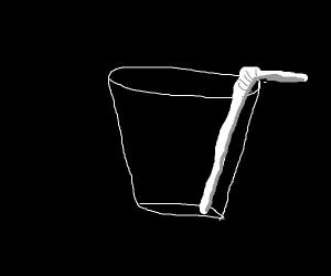 Glass With a Straw