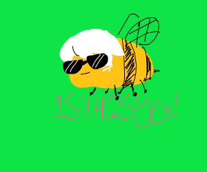 Dave Strider as a bee