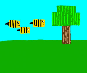 Bees in Minecraft?!?!?