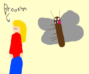 A moth eat Brooklyn
