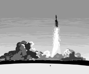 NASA Rocket Lauch