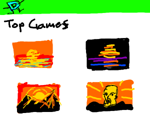 "Today's top games: ""Beautiful sunset"""