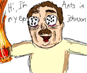 Ants crawling on my eyes