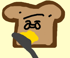 Laughing toast