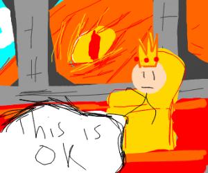 King thinks something is ok