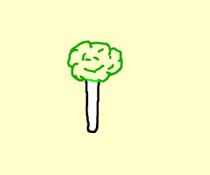 Broccoli candy