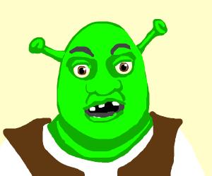 Shrek has seen some things