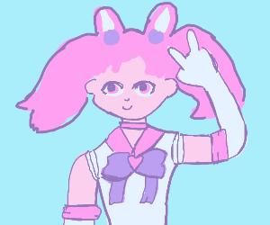 Sailor Chibi Moon (from Sailor Moon)