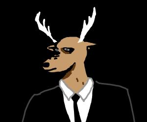 a fancy deer