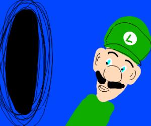Black hole denies Luigi