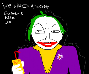 We Live In A Society Says Joker Drawception